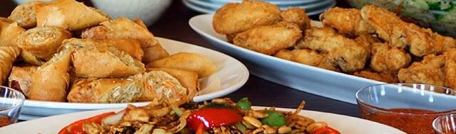รายการอาหารโต๊ะจีน